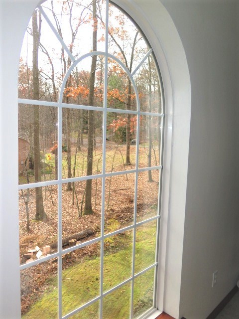 Custom Window With Side yard View