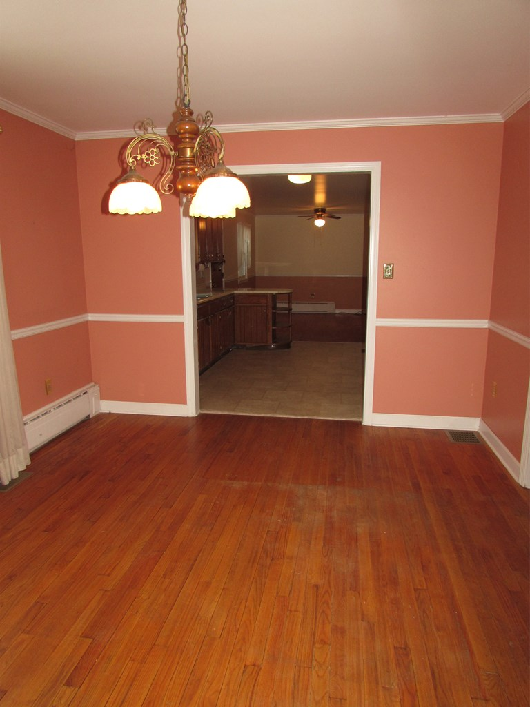 formal dining area or family room looking into kit