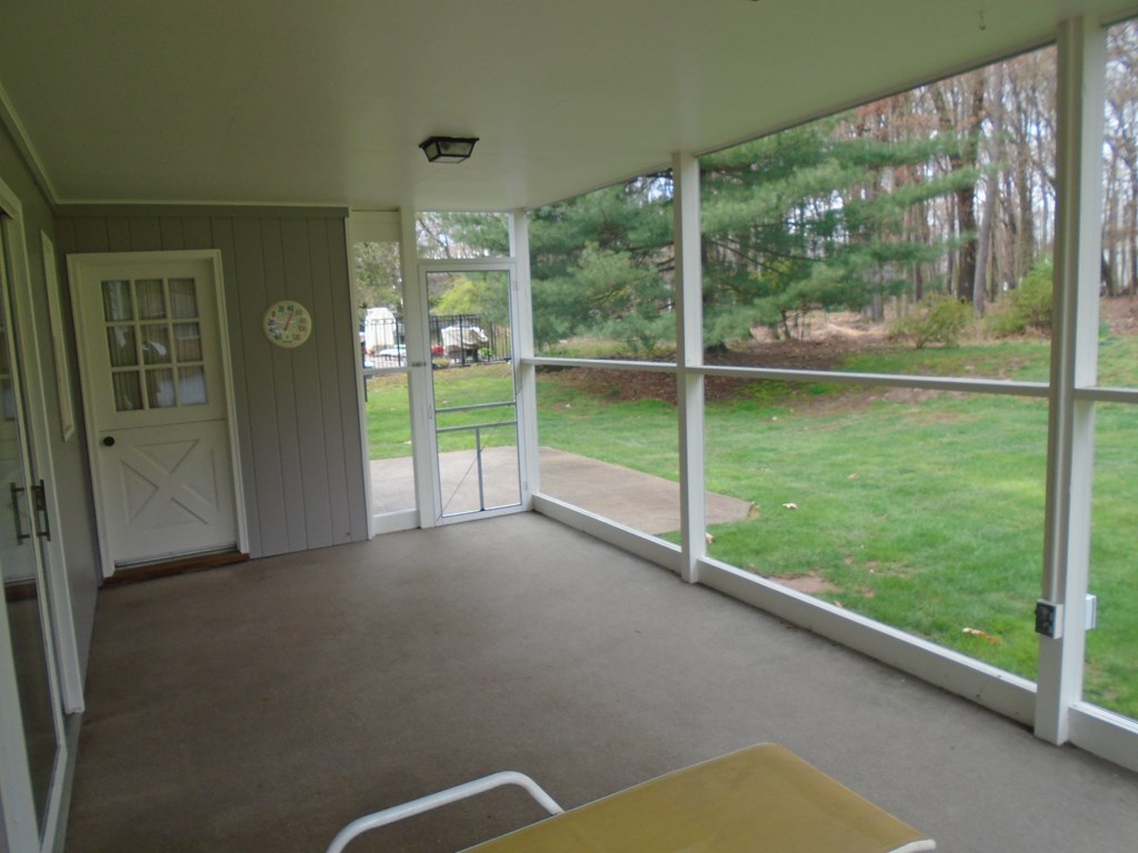 Screened-In Covered Back Porch
